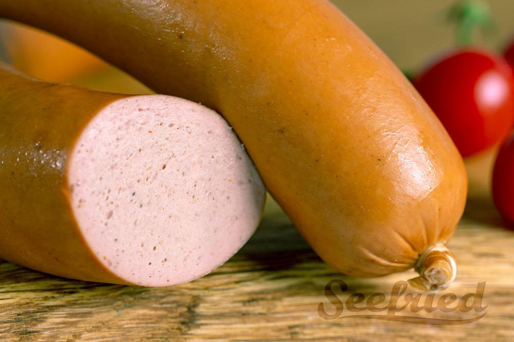 Detailansicht Fleischwurst / Lyoner