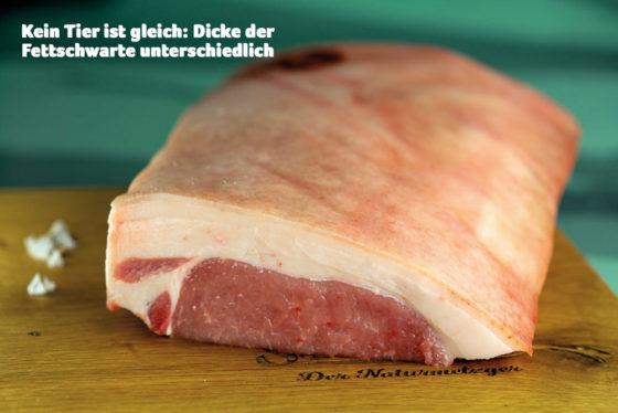 Kotelett vom Eichelweideschwein ohne Knochen