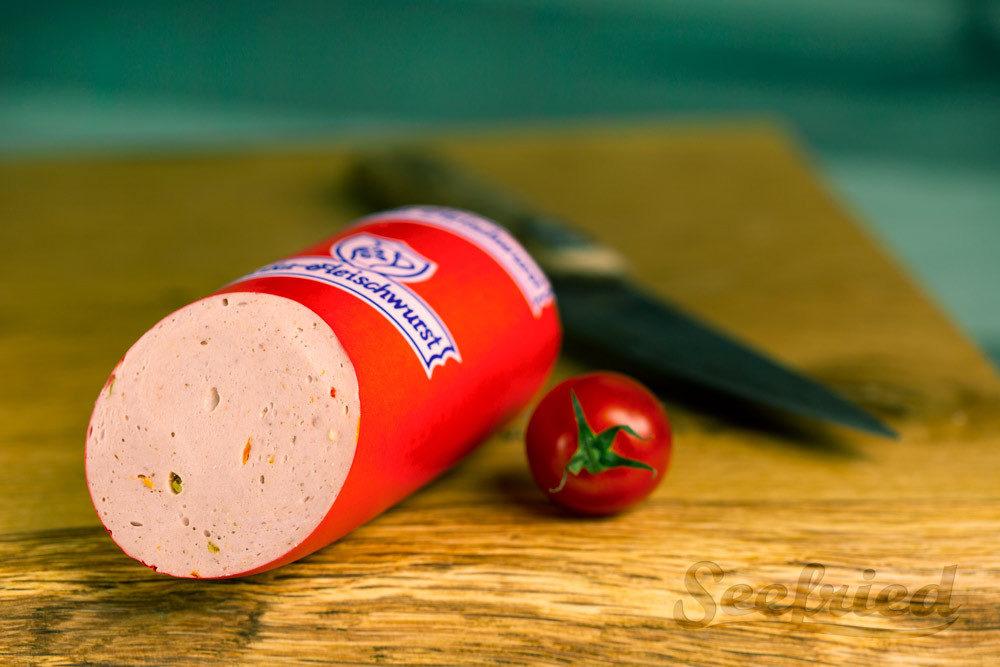 Kleine Paprikawurst - Detailansicht