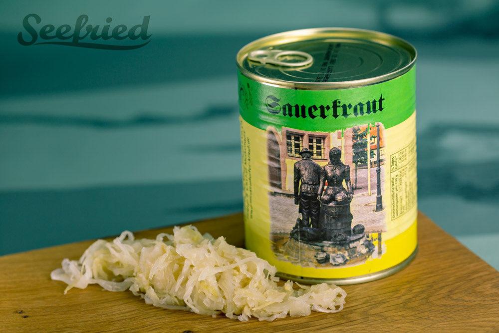 Sauerkraut in der Dose