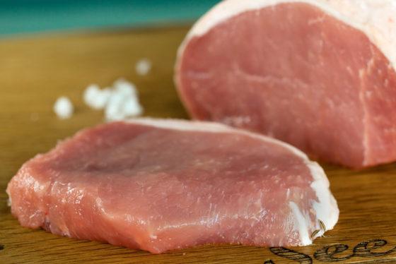 Schweinelachs, Schweinerücken ohne Knochen