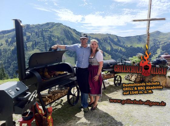 Adi Blanz in Deutschlands höchster Grill & BBQ Akademie