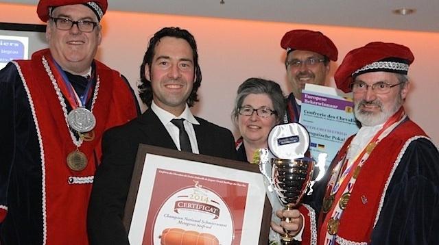 Martin Seefried ist Europameister der Streichwurst 2014