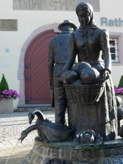 Krautbrunnen in Merkendorf