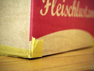 Unser Paketband ist aus Papier