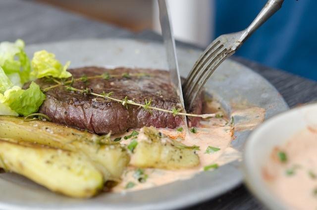 Steak Braten Grillen Wie Lange Wie Heiss