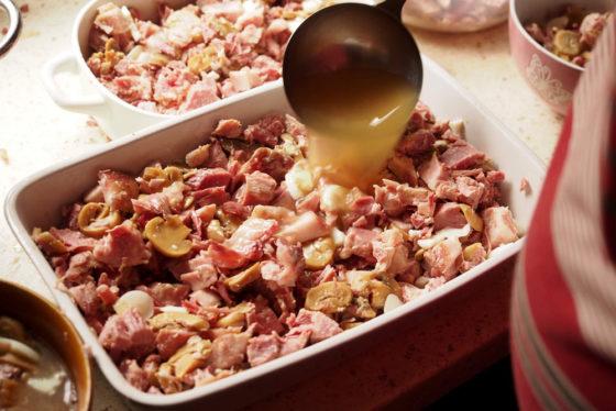 ... zum Sülze kochen
