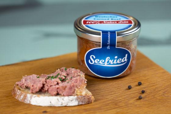 Deutsches Corned Beef im Glas