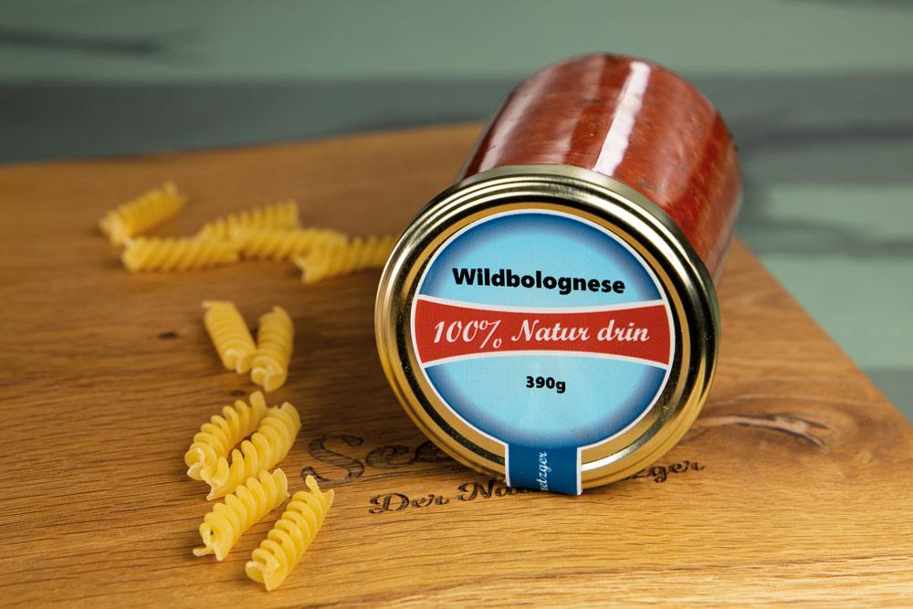 Wildbolognese aus Jagdwild