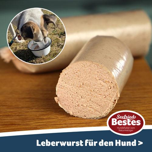 Leberwurst für den Hund
