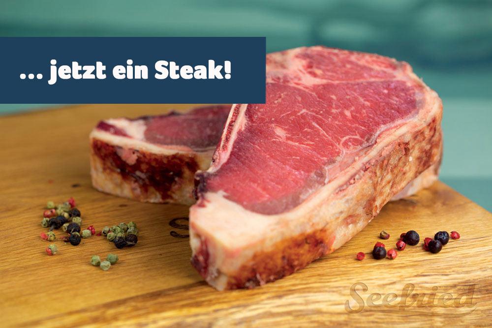 Saftige Steaks
