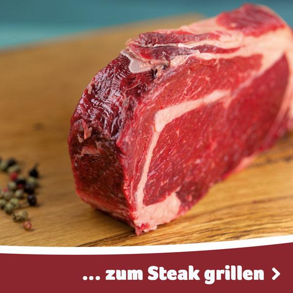 Leckere Steaks zum Grillen