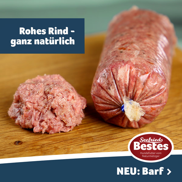 Barf - rohes Tierfutter