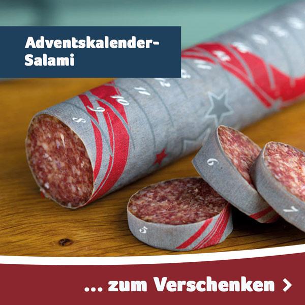 Adventskalender-Salami